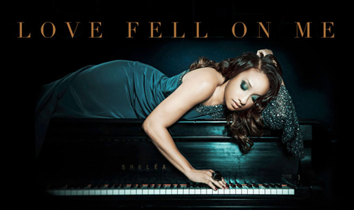 Shelea Frazier 'Love Fell On Me' CD pic